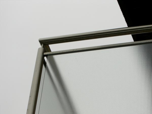 Glasbalkon von der Glaserei Reiterer GmbH in Ternitz