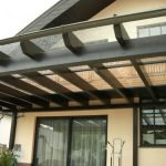 Vordach aus Glas von der Glaserei Reiterer aus Ternitz