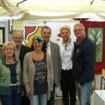 Die Glaserei Reiterer GmbH aus Ternitz bei der Straßengalerie in Neunkirchen