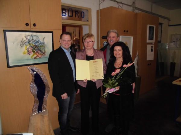 Fotos von der Veranstaltung Kunst in der Werkstatt 2015 bei der Glaserei Reiterer GmbH in Ternitz.