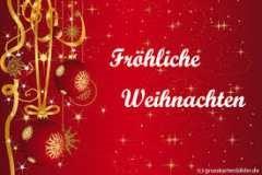 Frohe Weihnachten wünscht die Glaserei Reiterer in Ternitz